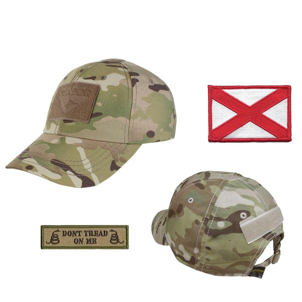 b52875367b7d8 State Patch Operator Cap - Multicam - Gadsden and Culpeper
