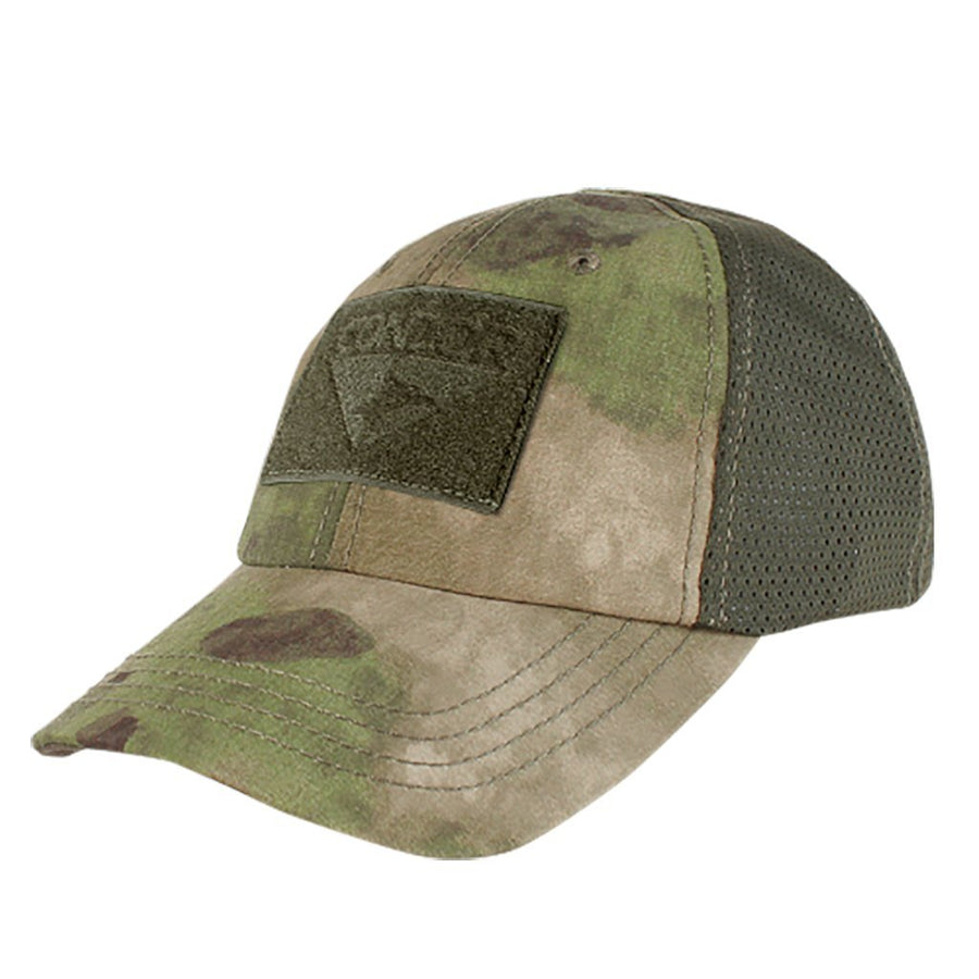 Mesh Camo Tactical Hat Builder - ATACS-FG
