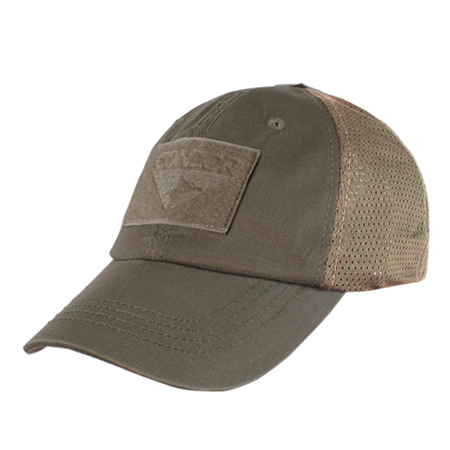 Condor Mesh Tactical Cap - Dark Earth