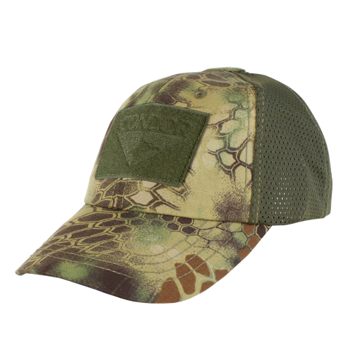 Mesh Camo Tactical Hat Builder - Mandrake