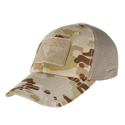 Mesh Camo Tactical Hat Builder - Multicam-Arid