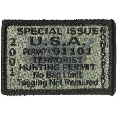 Terrorist Hunting Patch