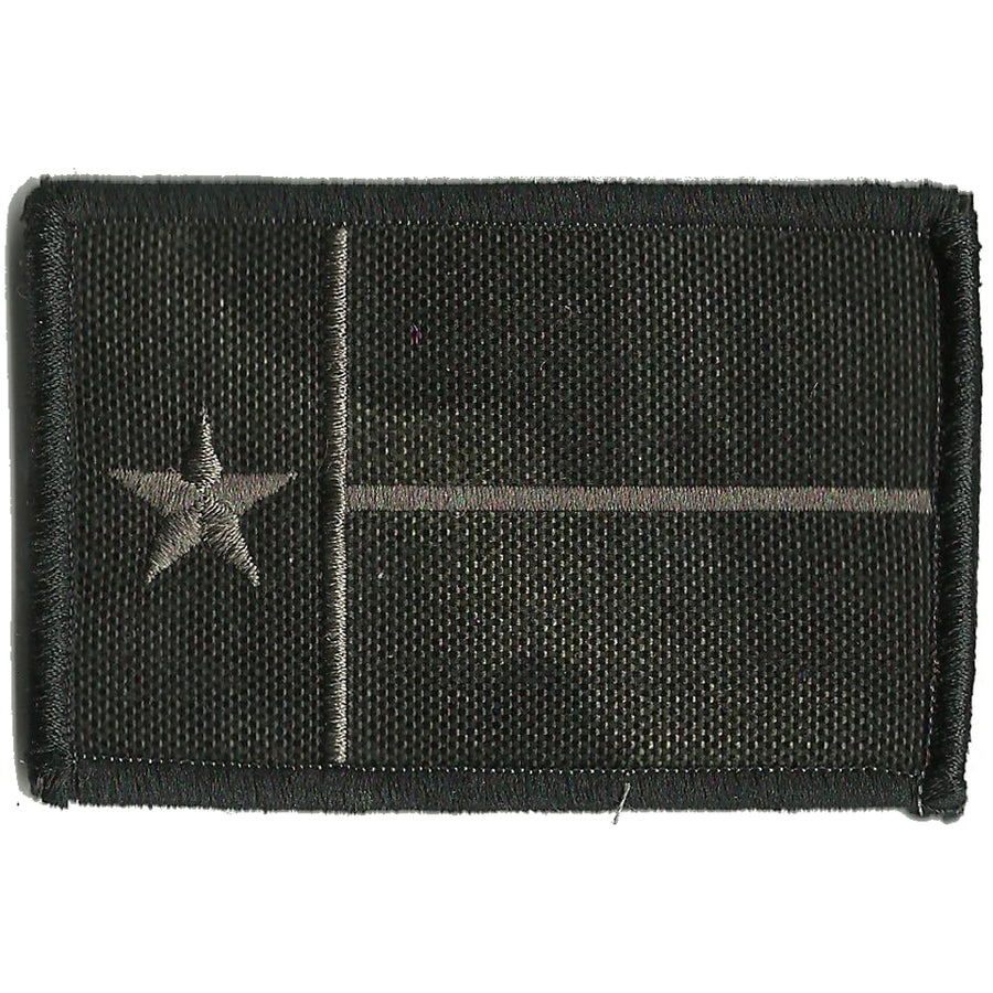 "MULTICAM-BLACK - Texas Tactical Patch - 2"" x 3"""