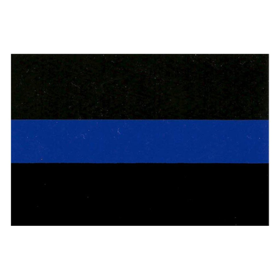 "2""x3"" Thin Blue Line Sticker"