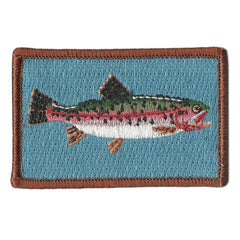 "2""x3"" Trout Tactical Patch"