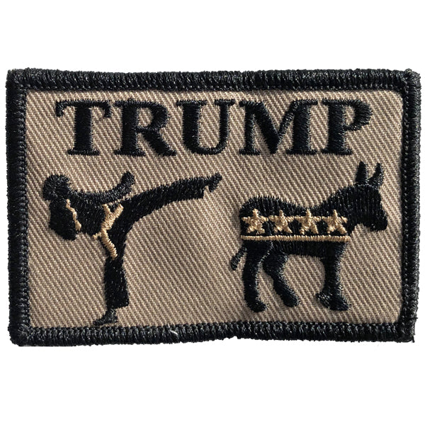 "Trump Kicks Ass - 2"" x 3"" Patch"