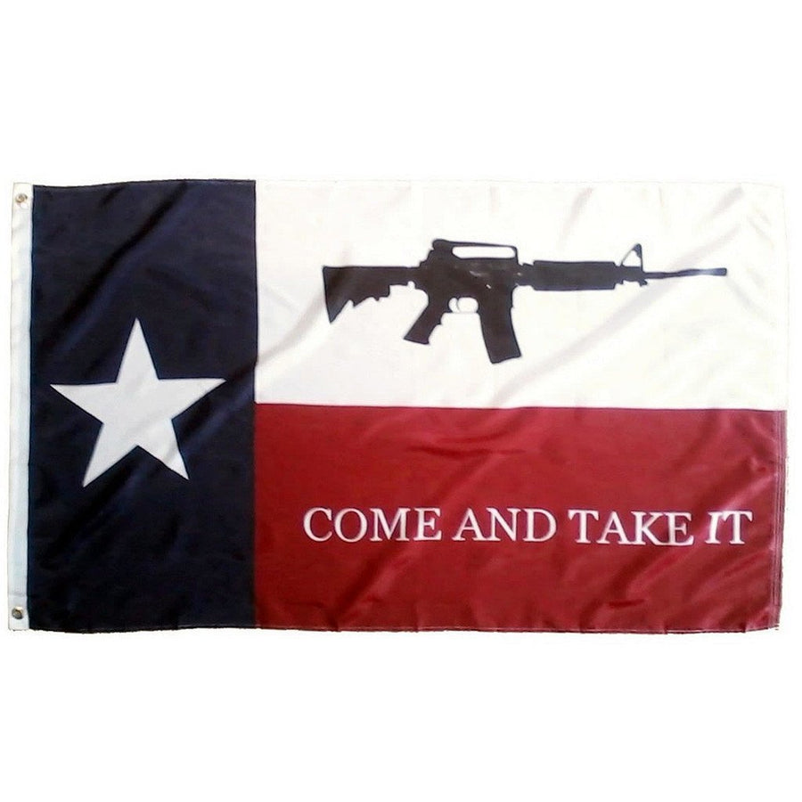 3x5 ft Texas Come and Take It Super-Poly Flag