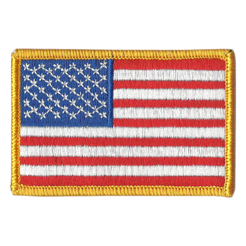 Tactical USA Flag Patch Subdued Silver USA by Gadsden and Culpeper