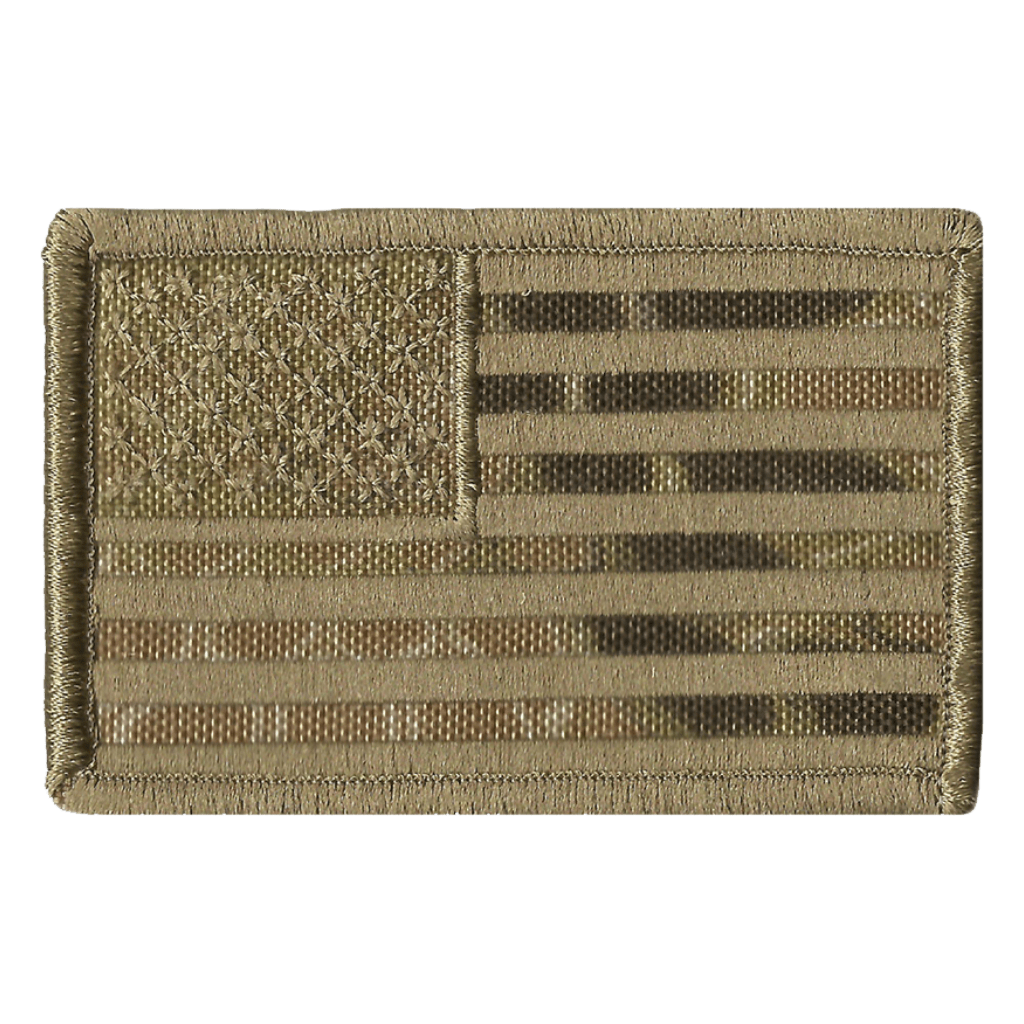 Kryptek-Highlander USA Tactical Patch