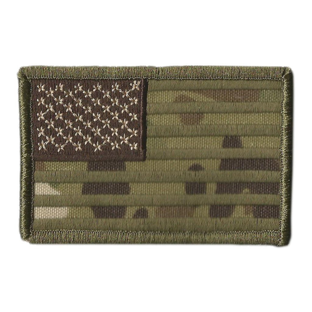 "MULTICAM - USA Tactical Patch - 2"" x 3"""