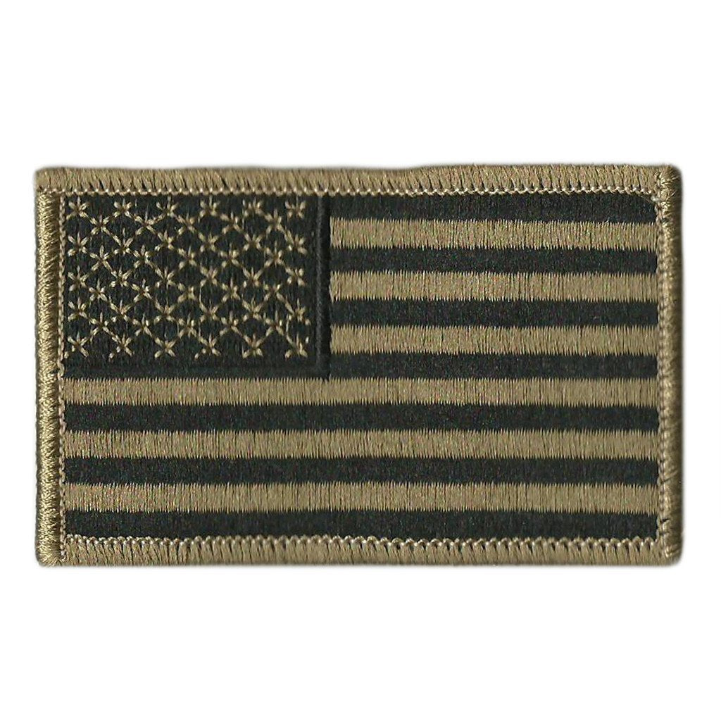 USA Shoulder Patches - Iron-On