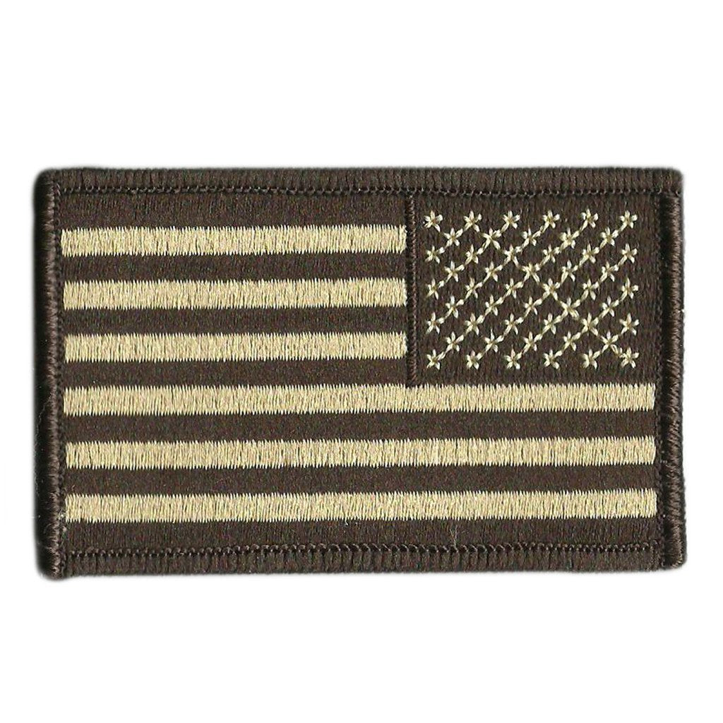 Reverse USA Shoulder Patches