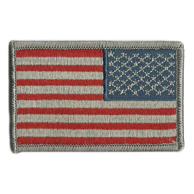 Reverse USA Shoulder Patches - Iron-On