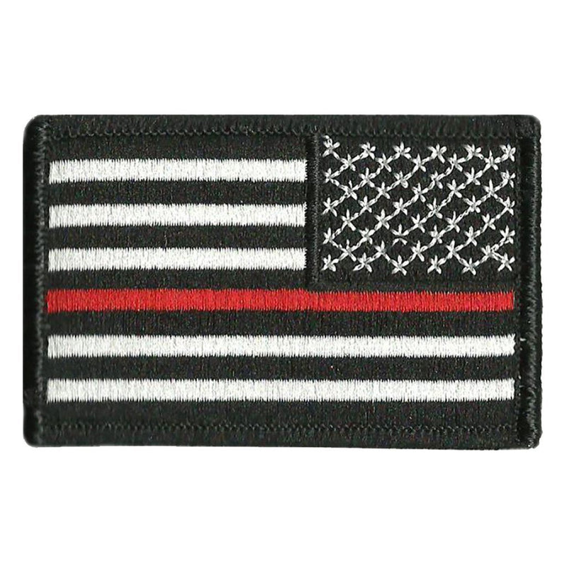 2 Quot X3 Quot Thin Red Line Flag Patch Reverse Gadsden And