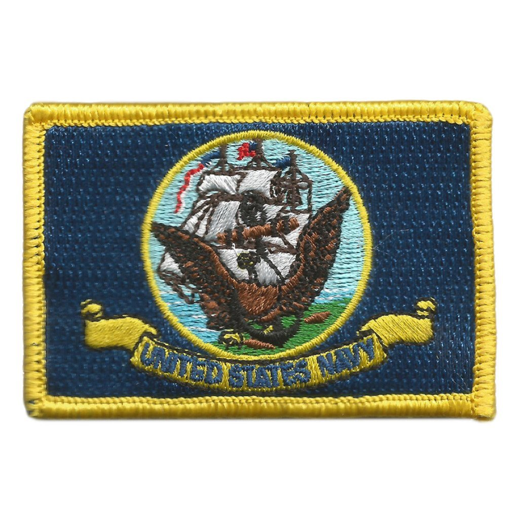 "2""x3"" Navy Tactical Patches (Military)"
