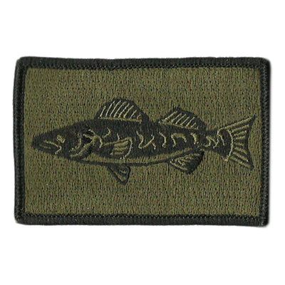 "2""x3"" Walleye Tactical Patches"