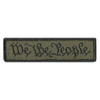 "We The People Morale Patches 1"" x 3 3/4"""