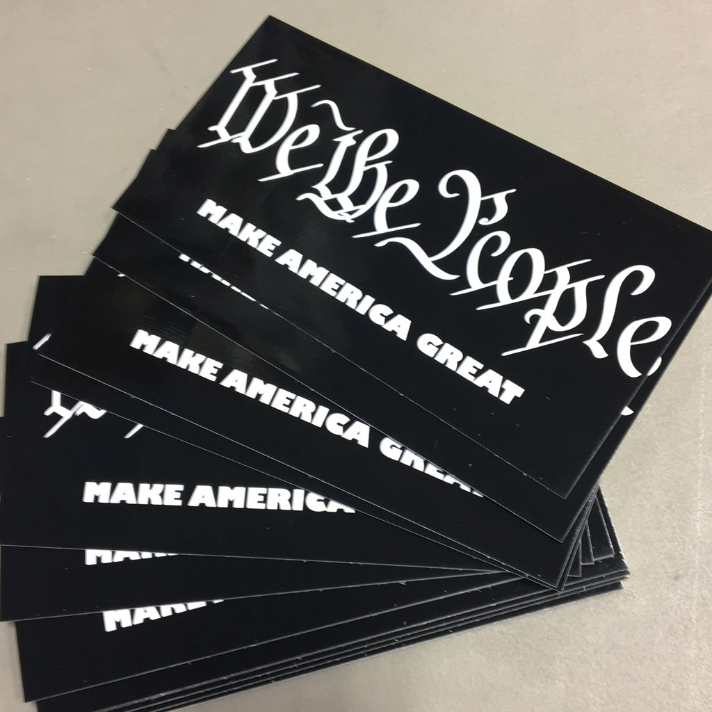 We the PEOPLE Sticker