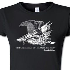 Womans - Right To Keep and Bear Arms - Black