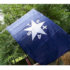 3x5 ft Lorenzo de Zavala TEXAS Flag of 1836 Super-Poly Flag