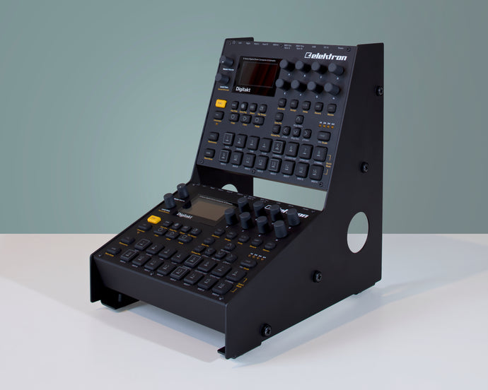 2-Tier stand for Digitakt, Digitone and AnalogHeat. Standard Edge.