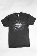 French Broad Chocolate Crew Neck Bus Shirt