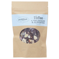 Toffee - Dark Chocolate with Almonds