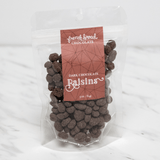Dark Chocolate Coated Raisins (vegan)