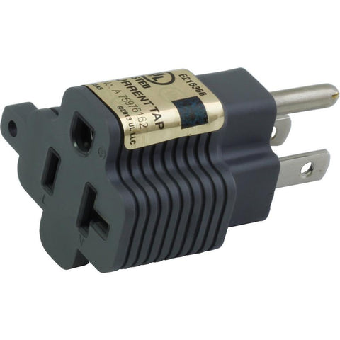 15 amp household plug to 20 amp adapter plug