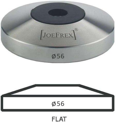 56 mm diameter Flat Tamper Base - at Total Espresso