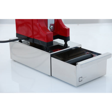 Knock Box Drawers for Home Use - mini model with grinder on top - at Total Espresso