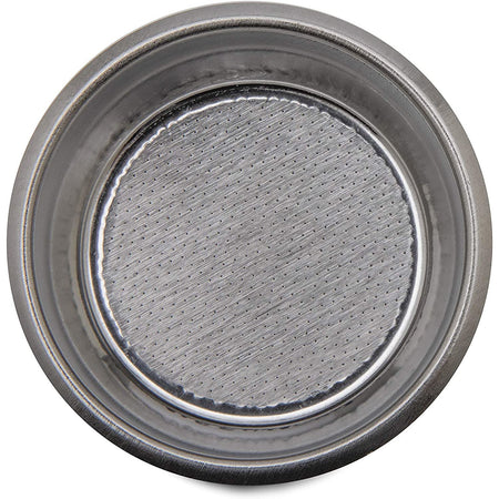 Lelit 57mm Bottomless Filter basket - 57mm 20 g basket top view - at Total Espresso