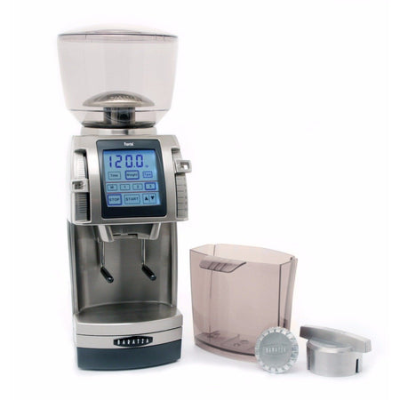 Baratza Forté-AP Coffee Grinder – Stepped, Doserless, 54 mm Flat Burrs - with accessories - at Total Espresso