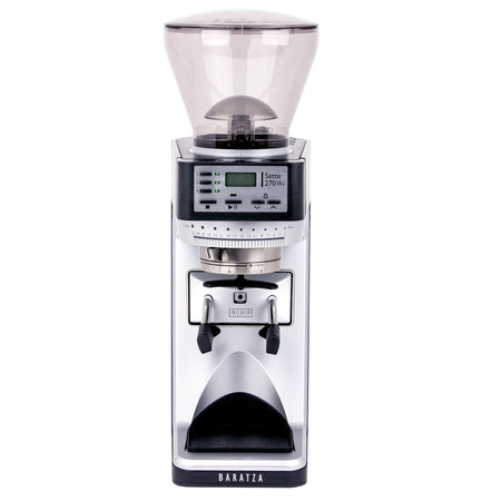 Baratza Sette 270Wi - Conical Burr, Stepless, Doserless, Weight-Based Dosing - front view - at Total Espresso