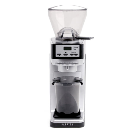 Baratza Sette 30AP – Conical Burr, Stepped, Doserless Espresso Grinder - front view - at Total Espresso