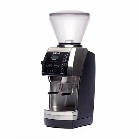 Baratza Vario Coffee Grinder – Flat 54 mm Burr, Stepped, Doserless - at Total Espresso