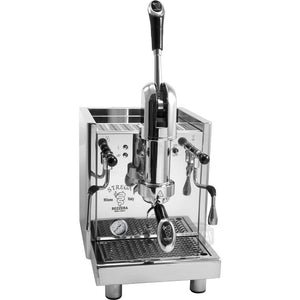 Bezzera Strega Espresso Machine with switchable water supply - front view - at Total Espresso