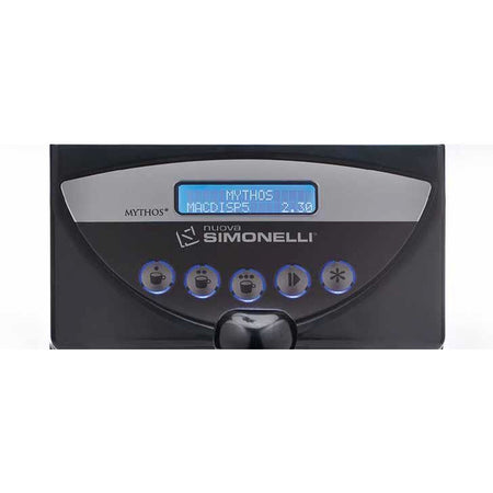 Nuova Simonelli Mythos Commercial Grinder - LCD Display detail - at Total Espresso