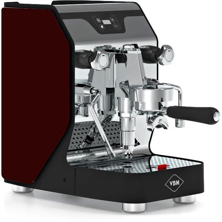 VBM Domobar Junior Digital Heat Exchange Espresso Machine – with bordeaux side panels - at Total Espresso