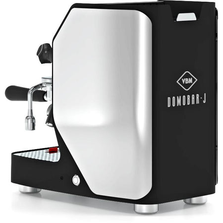 VBM Domobar Junior Digital Heat Exchange Espresso Machine – right rear quarter view - at Total Espresso