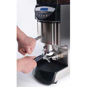 Nuova Simonelli Mythos Commercial Grinder - Dynamometric tamper on Plus Model - at Total Espresso - at Total Espresso