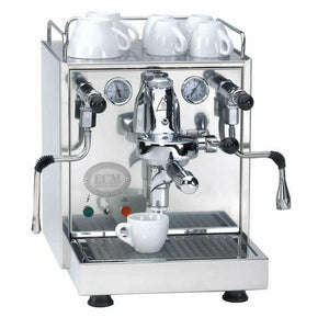 ECM Mechanika Profi IV Espresso Machine – HX, Rotary Pump, Switchable - at Total Espresso