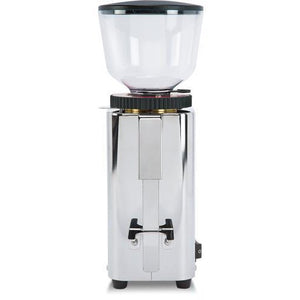 ECM C-Manuale 54 Espresso Grinder – Stepped, Doserless, 54 mm Burrs - front view - at Total Espresso