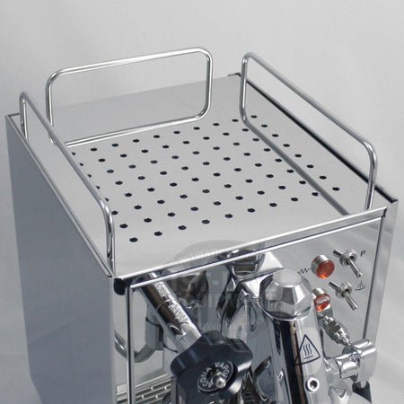 ECM Germany Classika Espresso Machine - Single Boiler, PID, Reservoir - top view reservoir - cup warmer - at Total Espresso