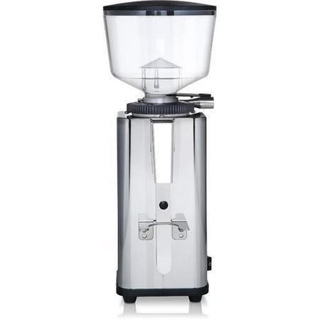 ECM S-Manuale 64 Espresso Grinder – Stepless, Doserless, 64 mm Burrs - front view - at Total Espresso