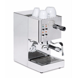 ECM Casa V Semi-Automatic Espresso Machine - right angled view- at Total Espresso