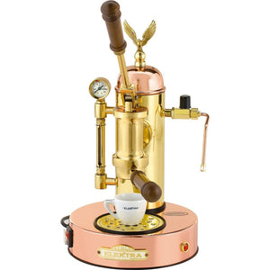 Elektra ART Microcasa A Leva Espresso Machine - Copper and Brass finish - at Total Espresso