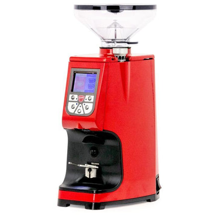 Eureka Atom Specialty 75 – Flat Burr, Stepless, Doserless Espresso Grinder - red - at Total Espresso
