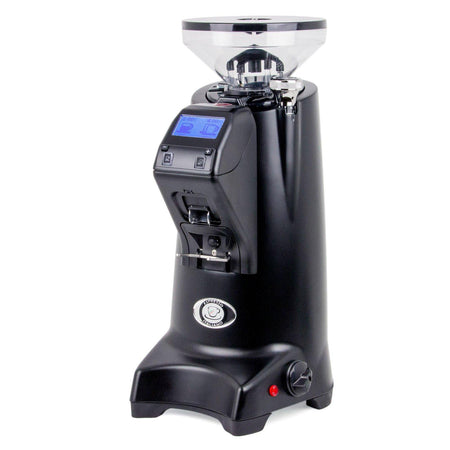 Eureka Olympus 75E High Speed Espresso Coffee Grinder - Black - at Total Espresso