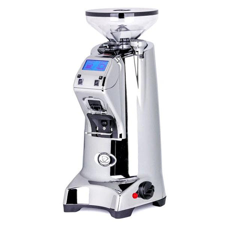 Eureka Olympus 75E High Speed Espresso Coffee Grinder - Chrome - at Total Espresso